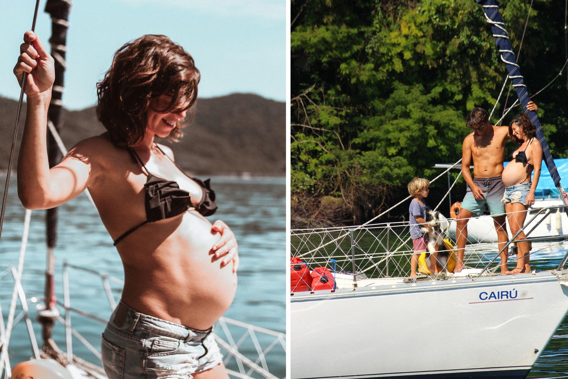 Momentos en familia en el Barco Amarillo