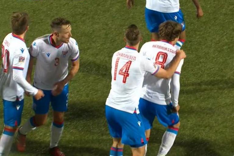Islas Feroe conquistó un agónico triunfo por 3 a 2 frente a Malta en el arranque de la Nations League
