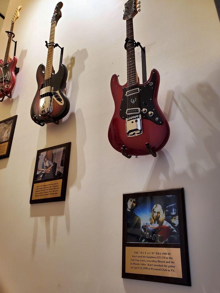 Una parte de la propiedad estará dedicada a exhibir objetos relevantes de Kurt Cobain