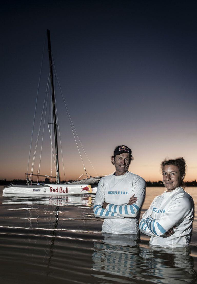 Santiago Lange y Cecilia Carranza Saroli, con las ilusiones intactas rumbo a unos nuevos Juegos Olímpicos.