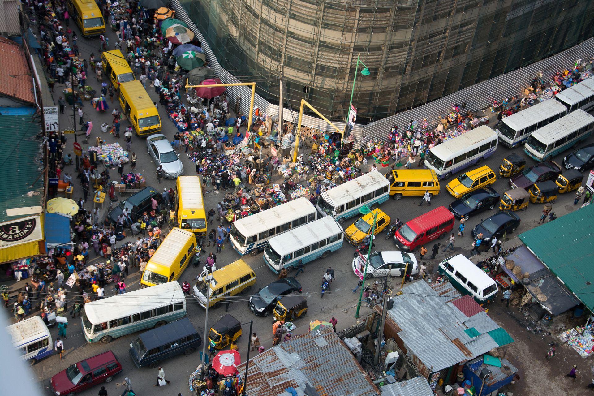 Caos en las calles de Abuja, capital de Nigeria