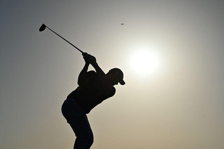 Emiliano Grillo durante la tercera ronda del British Open Golf Championship