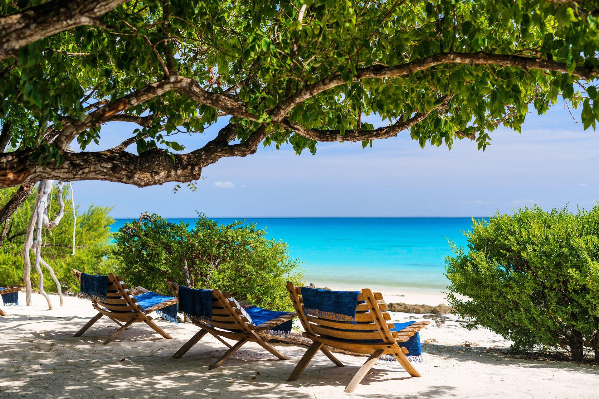 La playa de Mozambique