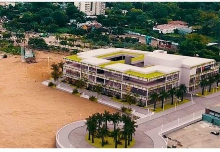 Así sería el nuevo shopping en la playa de Corrientes