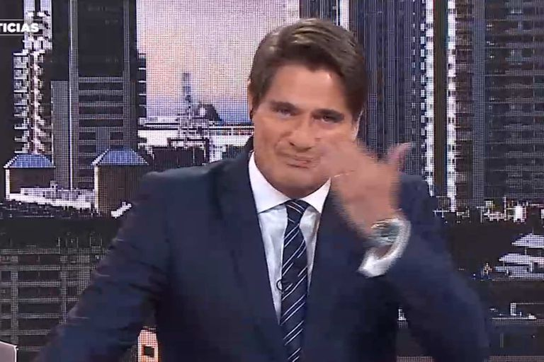 Guillermo Andino lloró en la despedida de Mónica Gutiérrez de la TV