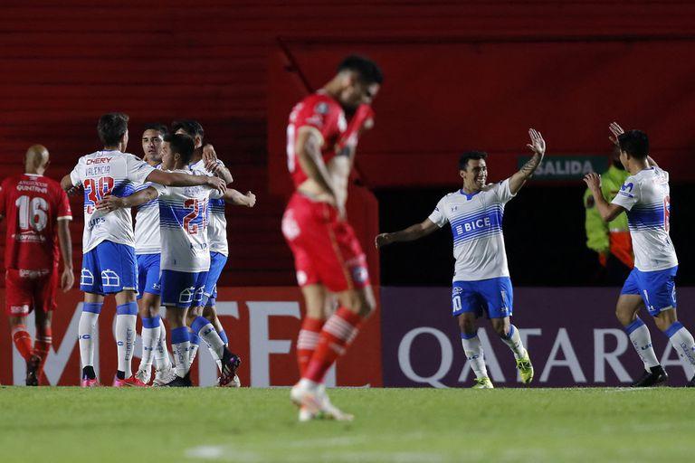 Argentinos Juniors sufre por el gol de Fernando Zampedri en la Paternal; el Bicho perdió el invicto en la Copa Libertadores tras caer por 1 a 0 contra el conjunto chileno.