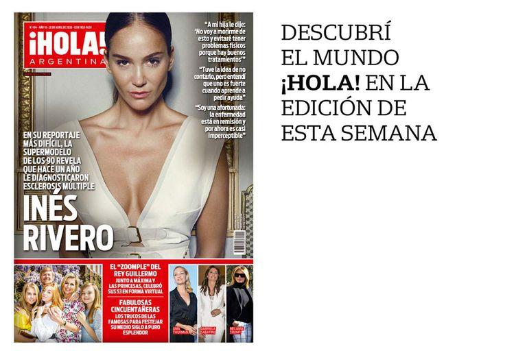 La tapa de revista ¡Hola! Argentina de esta semana.