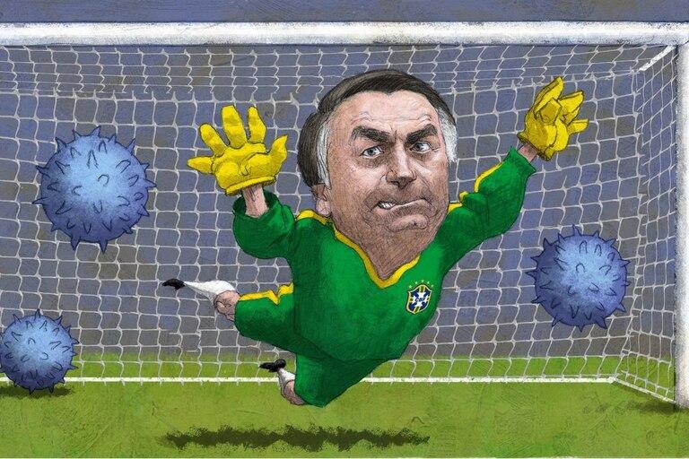 Los expertos advierten que la postura negacionista de Bolsonaro fogoneó el avance del virus en el país; agobiados por las infecciones y las muertes, algunos estados aplican restricciones