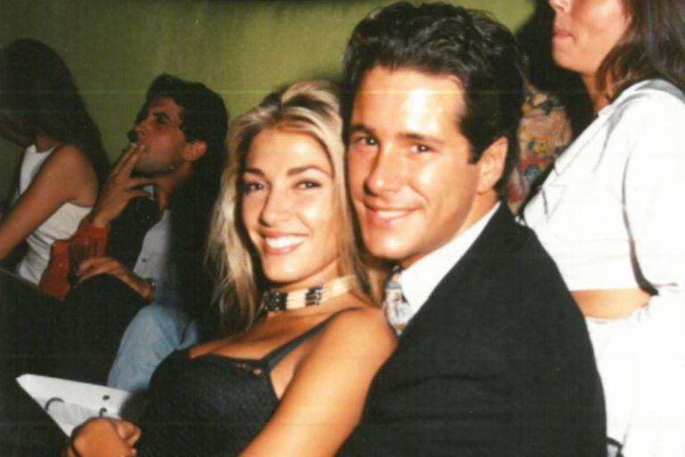 Catherine Fulop y Fernando Carrillo en el VIP de Ku