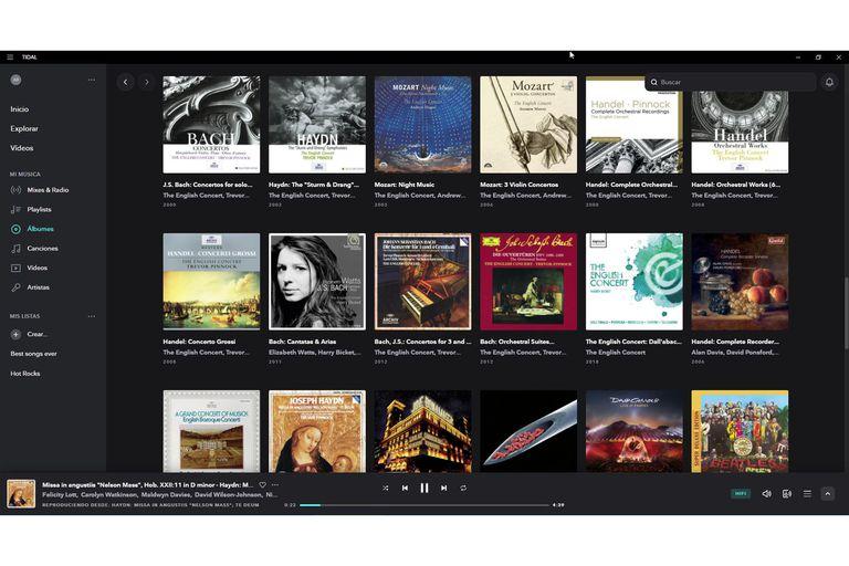 El catálogo del servicio nacido en Noruega ha ido ganando terreno y siempre ofreció calidad de CD. Ahora la pelota está en el terreno de Spotify