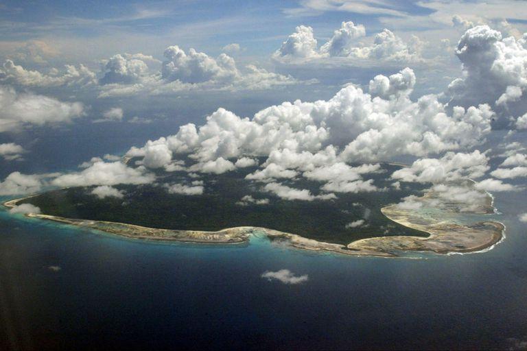 La paradisíaca isla Sentinel del Norte, sobre el Océano Indico, tiene menos de 60 kilómetros cuadrados de superficie