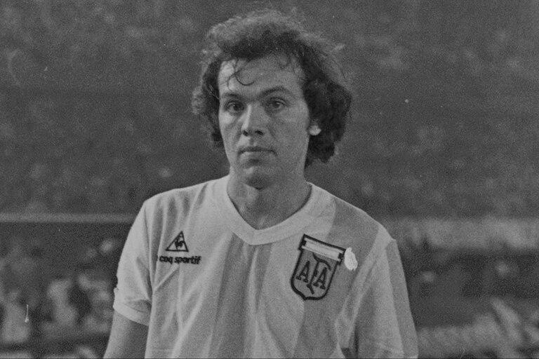 Sabella con la camiseta de la selección argentina.