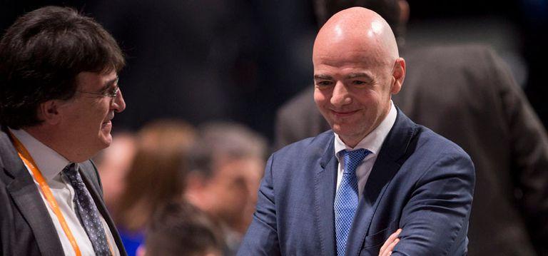 Con Infantino presidente, Europa conserva el poder
