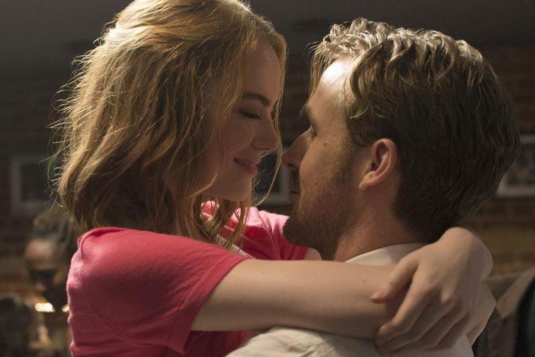 La actriz junto a Ryan Gosling