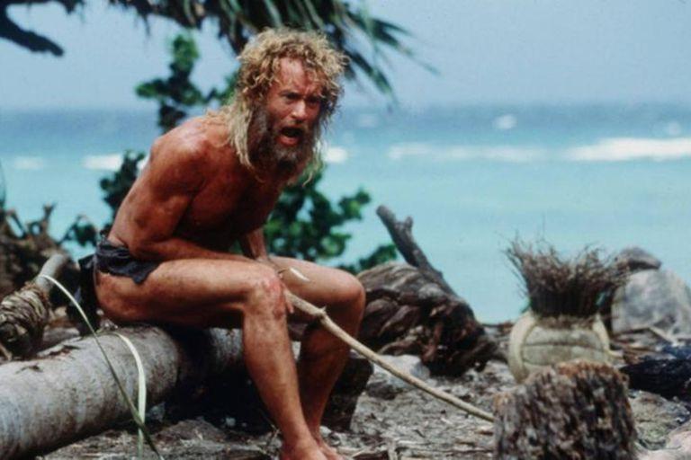Náufrago, con Tom Hanks, es considerada como una de las mejores películas de supervivencia.