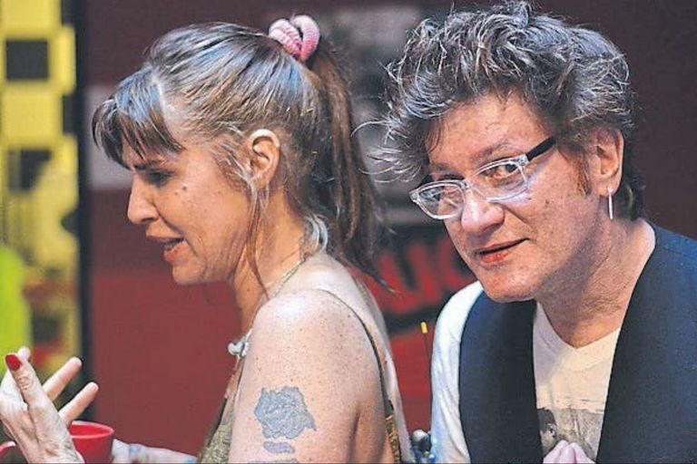 """Fabiana Cantilo y Pipo Cipolatti, las voces de Los Twist: """"Pensé que se trataba de cieguitos"""" fue uno de los hitos de su primer gran disco: La dicha en movimiento, producido por Charly García"""