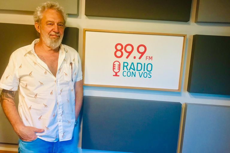 """Lalo Mir se sumó a Radio Con Vos y tendrá un rol """"multifuncional"""""""
