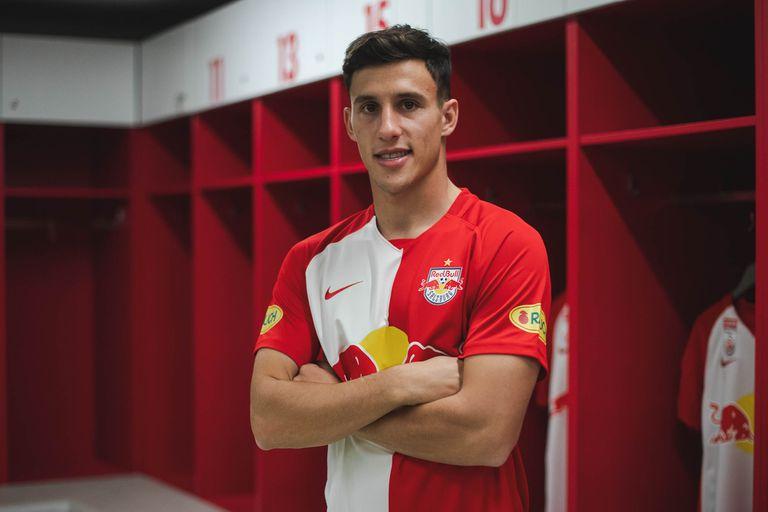 Nico Capaldo, flamante jugador del RB Salzburgo, de Austria: no irá a los Juegos