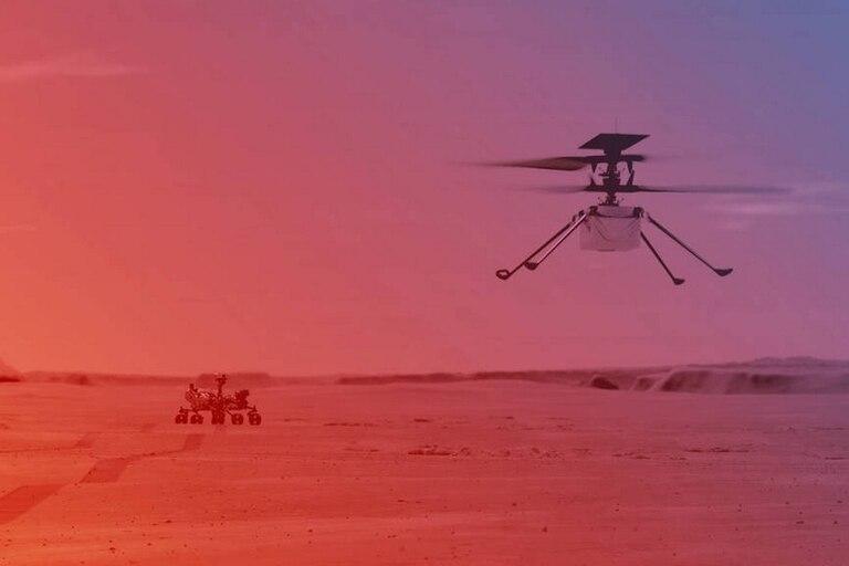 El primer vuelo del dron Ingenuity en Marte contará con la presencia de una pequeña pieza de la aeronave de los hermanos Wright