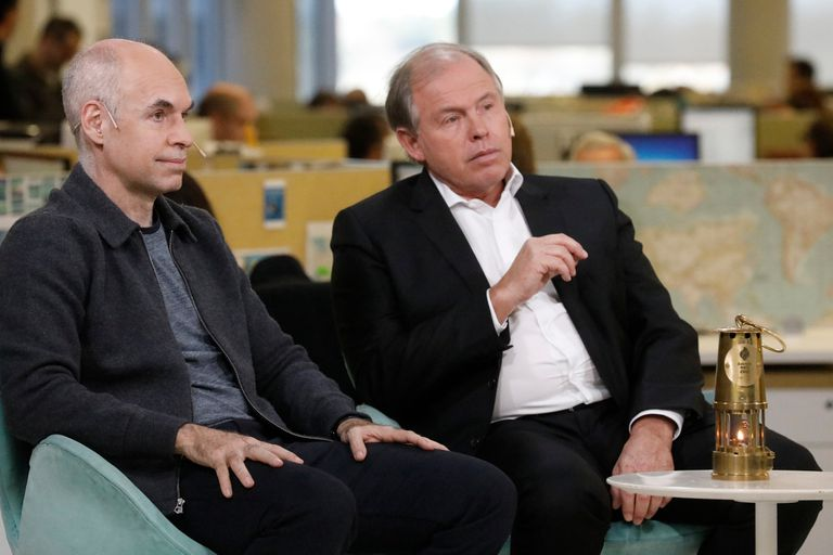 Rodríguez Larreta y Werthein, entusiasmados con los Juegos