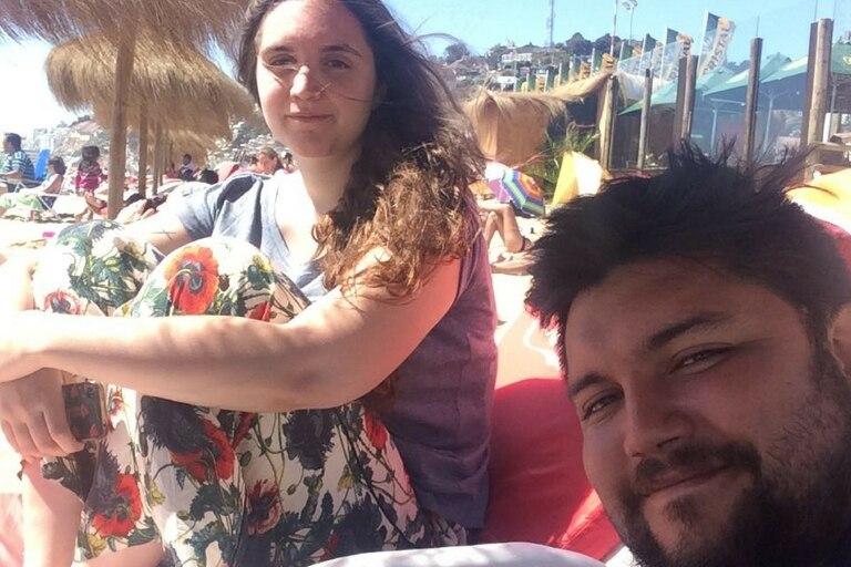 Valentina y Sergio, vacaciones en pareja por las playas de la costa chilena