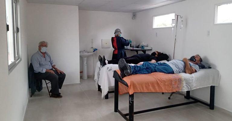 El hospital de día que logró reducir la internación y la mortalidad por Covid