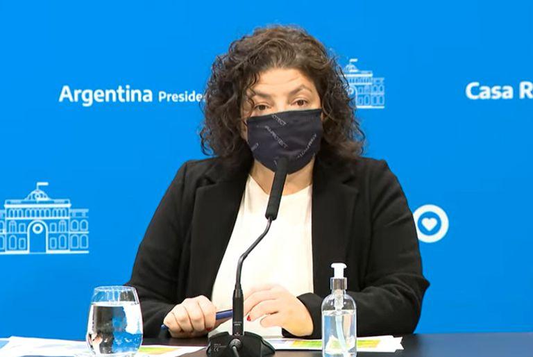 La ministra Vizzotti tiene apendicitis y la trasladaron de urgencia desde Mar del Plata