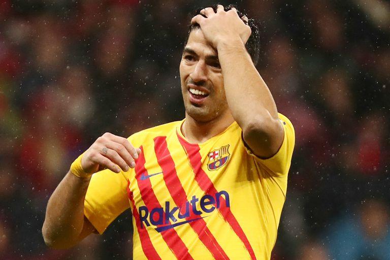 Luis Suárez, ausente en Barcelona por las próximas semanas