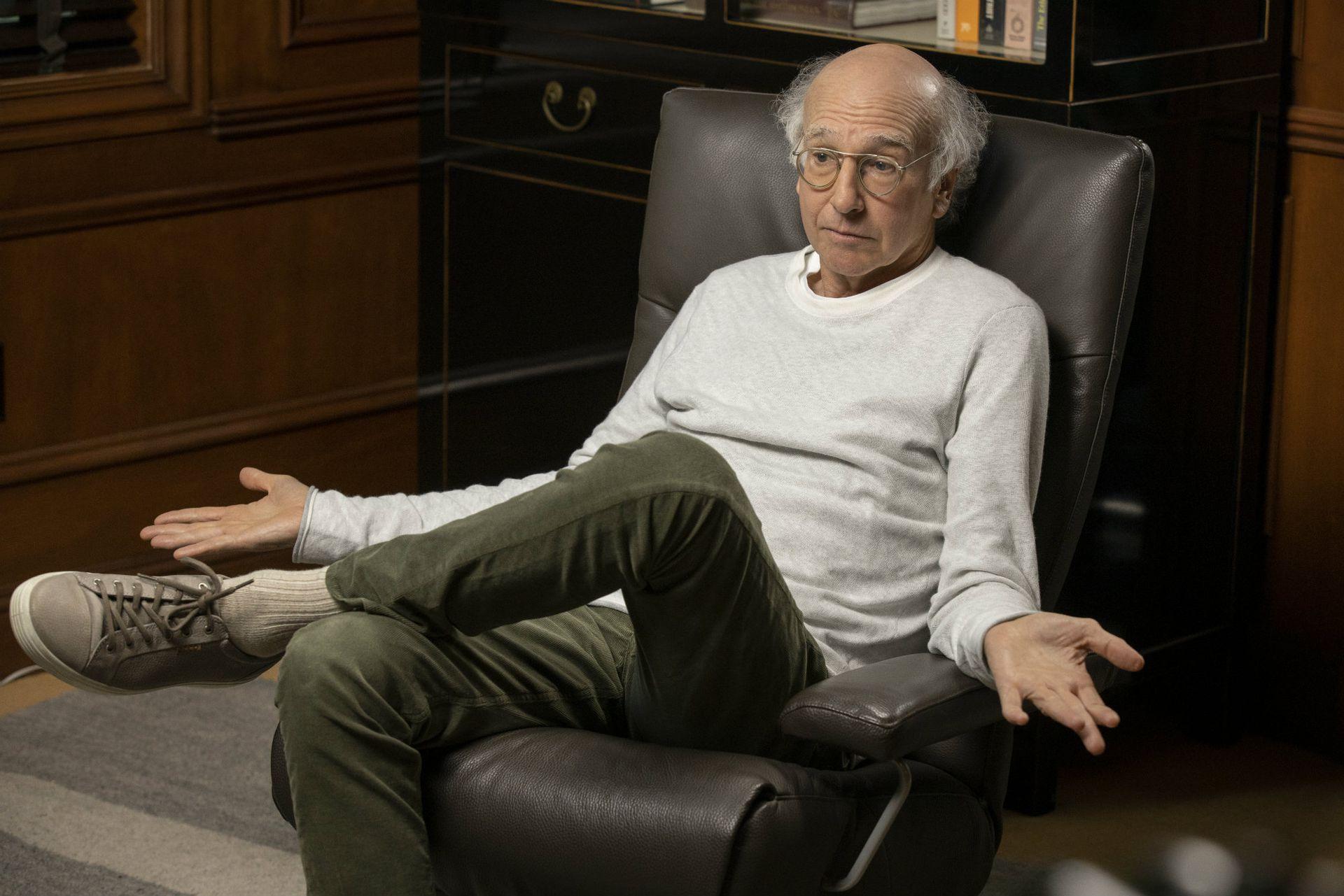 Larry David interpreta a una versión algo más cáustica de sí mismo en Curb Your Enthusiasm, que lleva 20 años en la pantalla de HBO