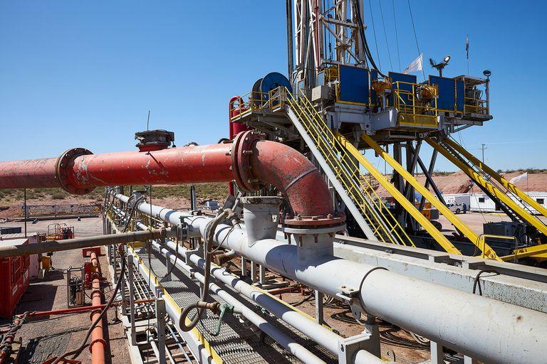 Yacimiento petrolífero en Neuquén