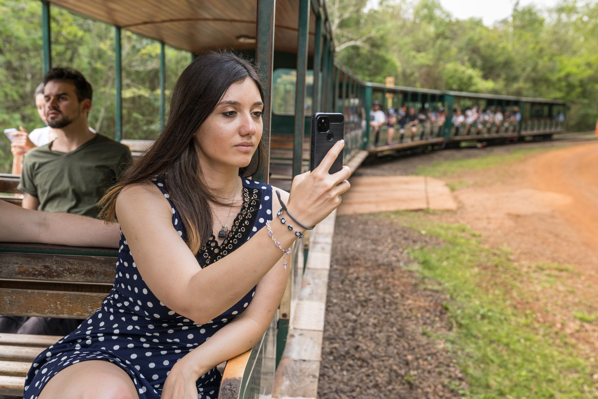 El Tren Ecológico recorre el PN Iguazú.