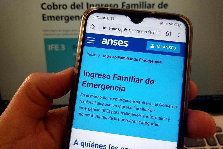 IFE 4 de Anses: el Gobierno descartó un nuevo cobro del bono de $10.000