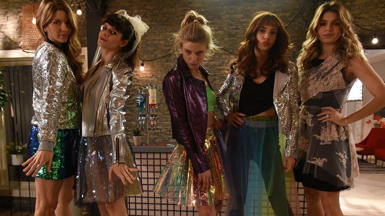 Las hermanas Estrella, protagonistas de un desfile de modas