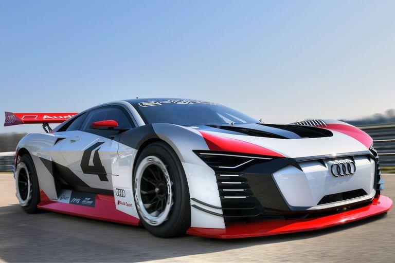 Del videojuego a la pista de la Formula E, así es el Audi e-tron Vision