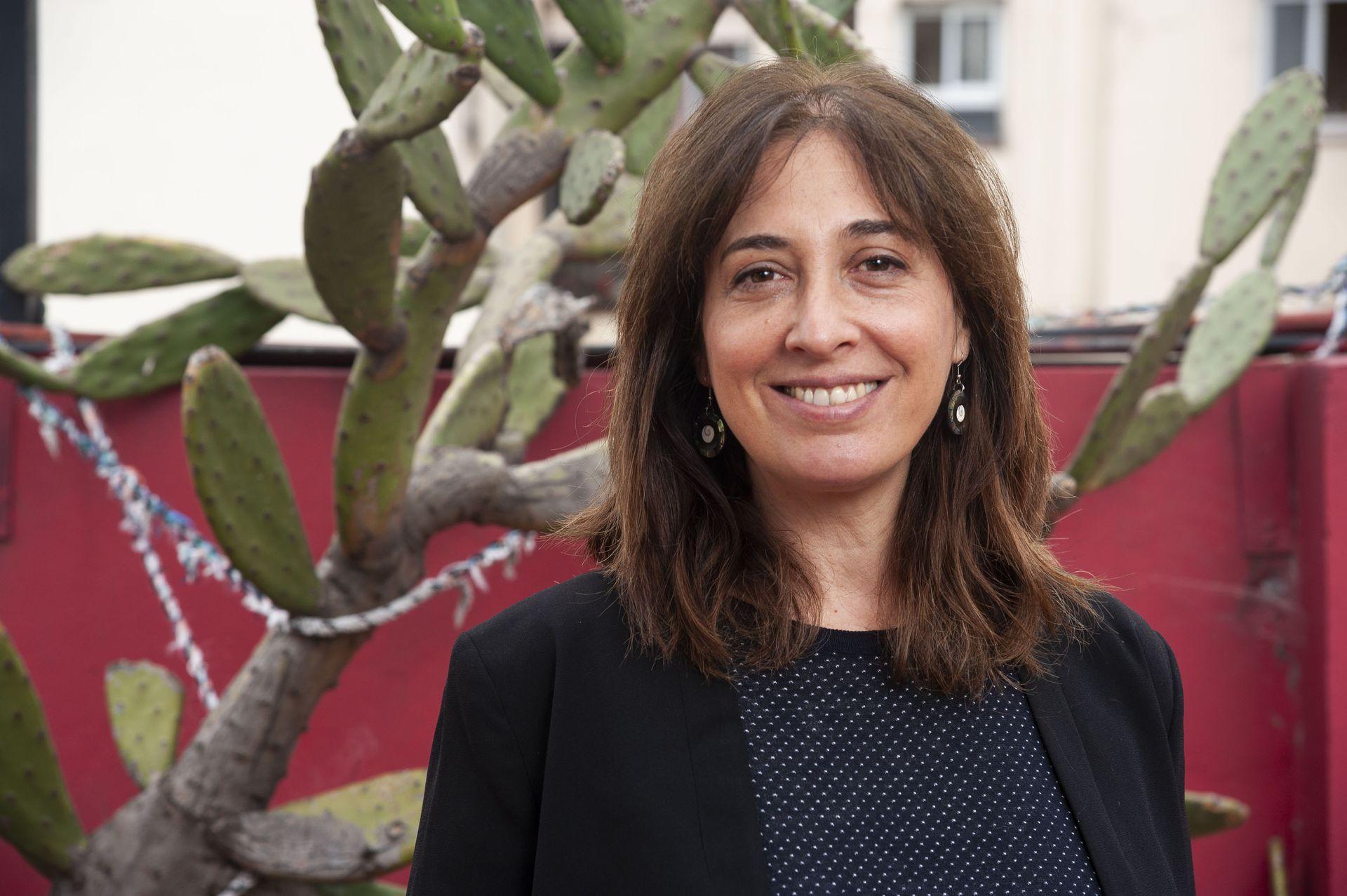 La actriz Andrea Garrote