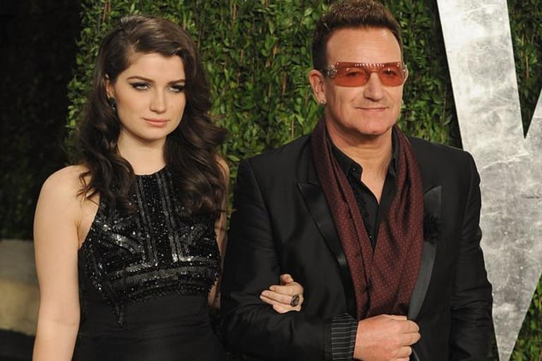 Eve Hewson es hija de Bono, el cantante de U2
