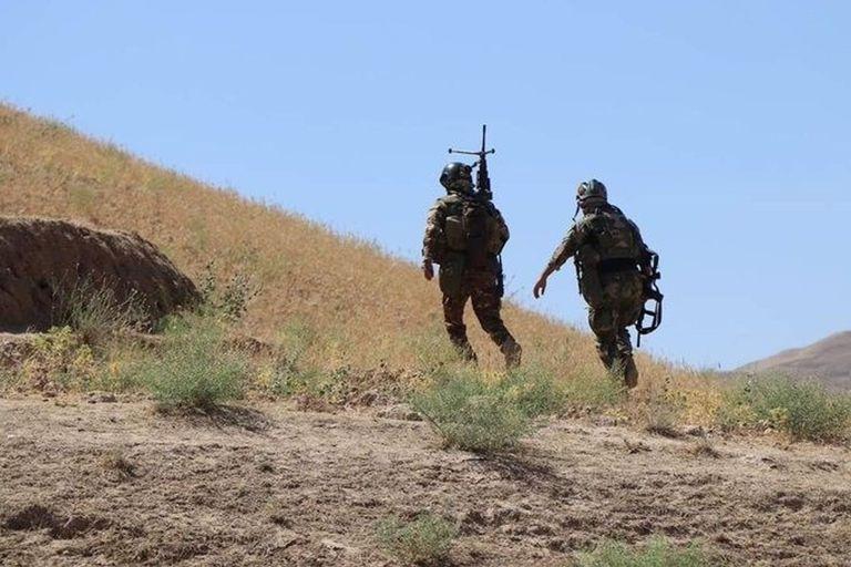 30-07-2019 Dos militares afganos desplegados en una operación POLITICA ASIA INTERNACIONAL AFGANISTÁN MINISTERIO DE DEFENSA AFGANO
