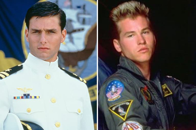 Del momento de gloria de Tom Cruise en 1986 al ocaso actual de Val Kilmer