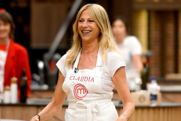 Claudia Fontán, actriz y cocinera.