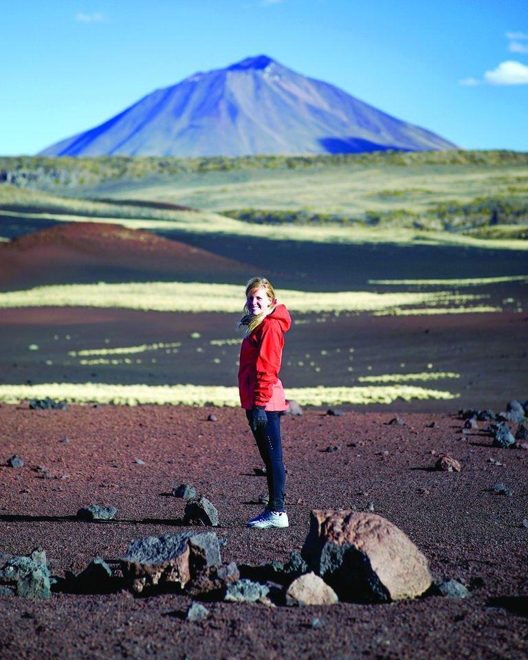 La Payunia es considera una de las regiones con más densidad de volcanes en el mundo.