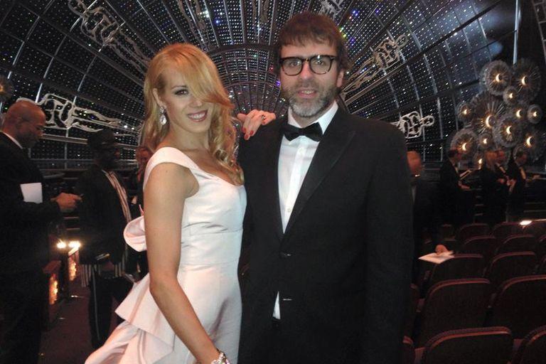 Mariana y Nicolás Giacobone, en la previa a la gran fiesta de Hollywood