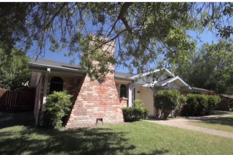 """La casa original que llamaron """"rancho"""" los propios propietarios. Imagen: HGTV"""