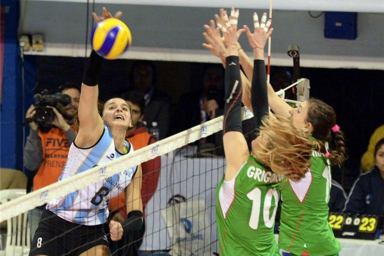 Las búlgaras derrotaron a las argentinas y terminaron con puntaje ideal