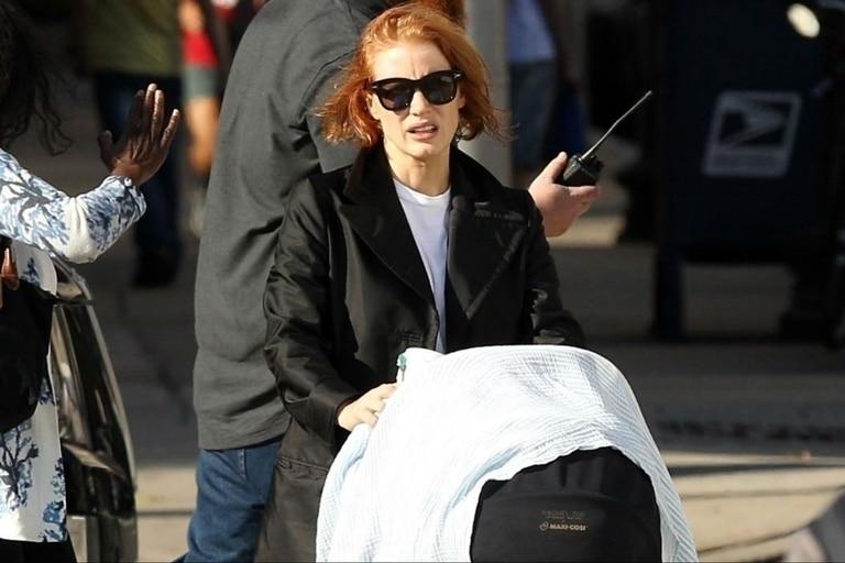 La actriz se mostró hace unos días por primera vez con su hija Giulietta, confirmando así la grata noticia