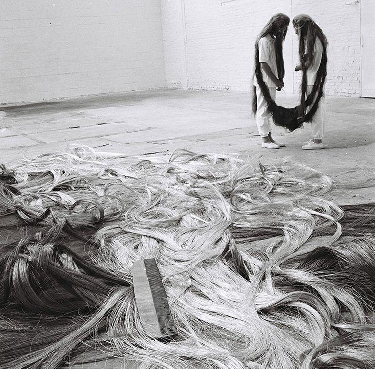 Xifópagas Capilares entre Nós en Kanaal Art Foundation Kortrijk, Bélgica, 1989