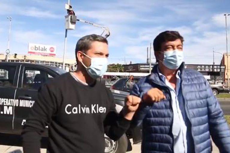 """""""Dejá de robar"""": el incómodo momento que vivió Fernando Espinoza en La Matanza"""