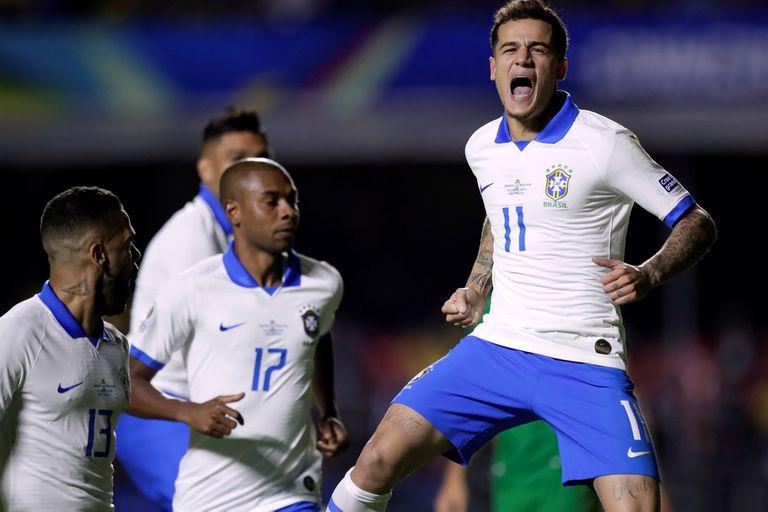 Copa América. Brasil le ganó a sus miedos y goleó a Bolivia en el debut