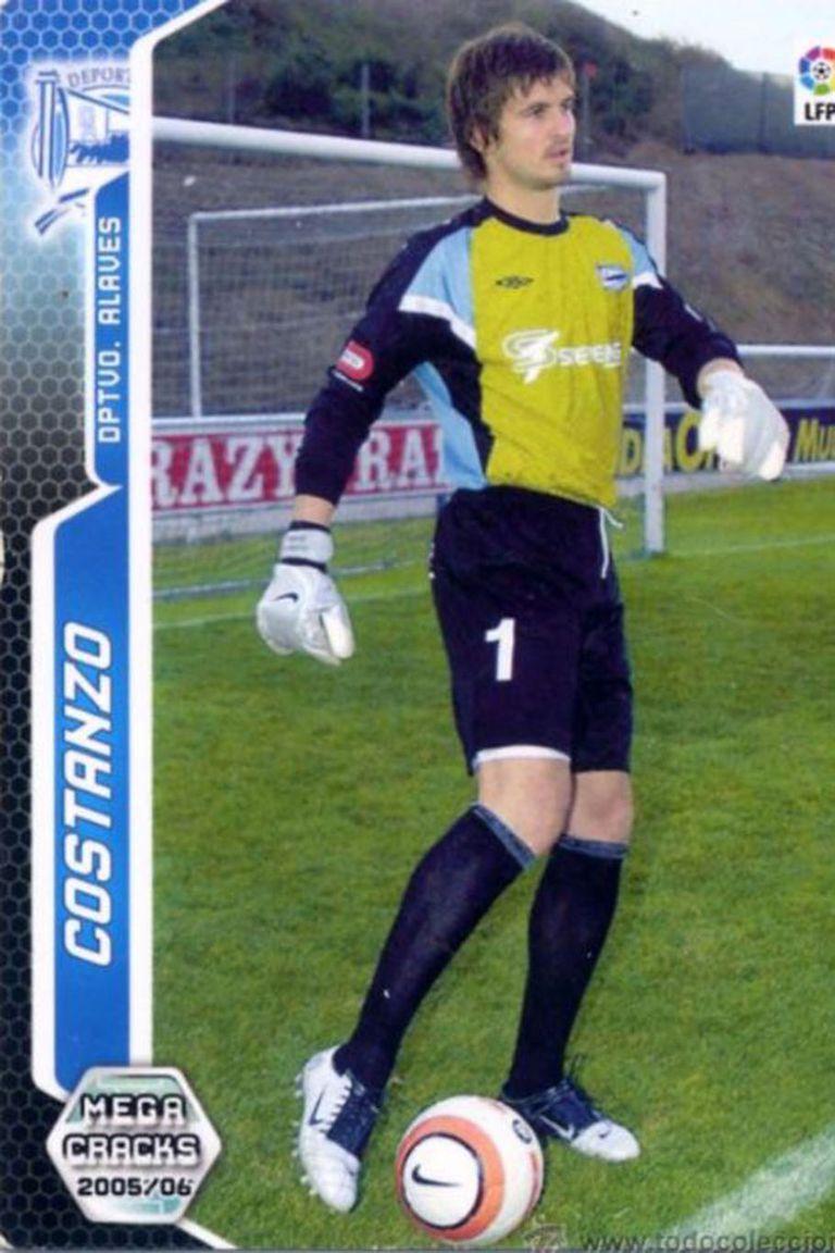 En Alavés atajó una sola temporada, la 2005/06, su primer club tras salir de River.