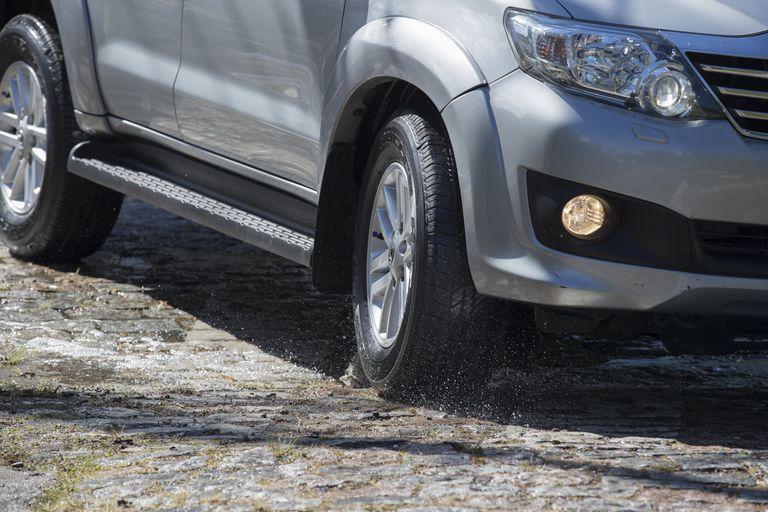 La adherencia es un factor clave en los neumáticos de las pickups y los vehículos todoterreno