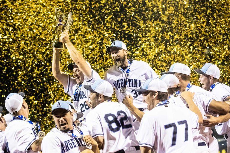 ¡Para la historia! La Argentina se consagró campeón del mundo de sóftbol